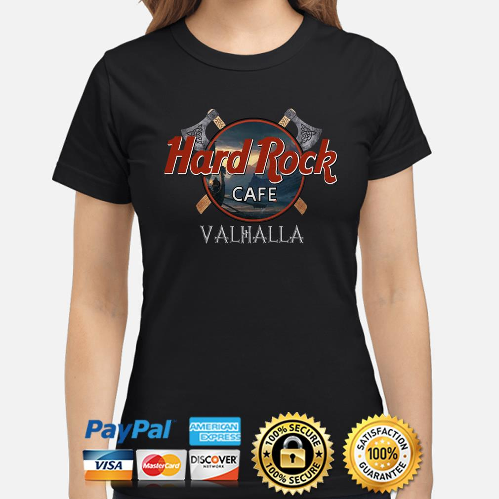Hard Rock Cafe Valhalla Ladies shirt