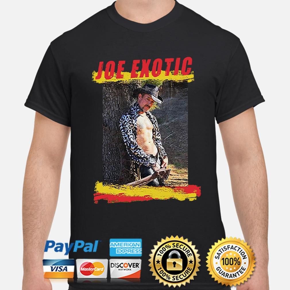 Sexy Joe Exotic Tiger King shirt