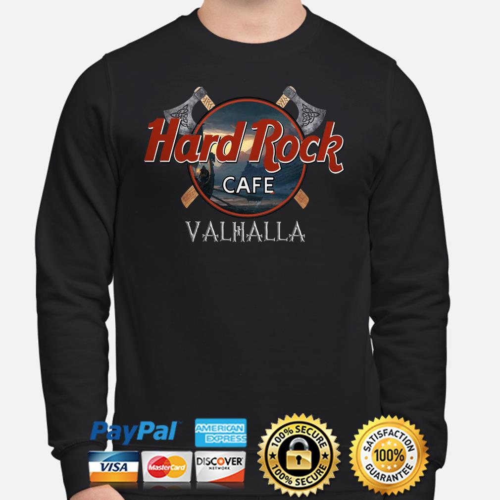 Hard Rock Cafe Valhalla Sweater
