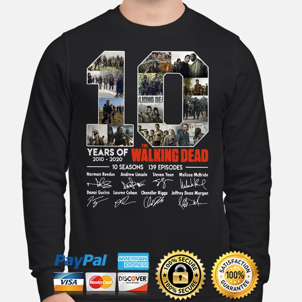 10 years of The Walking Dead signature Sweater