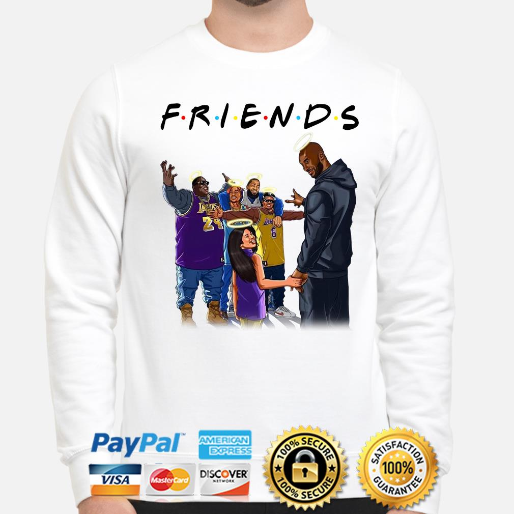 US Rappers Kobe Bryant and Gigi in heaven Friends s sweater