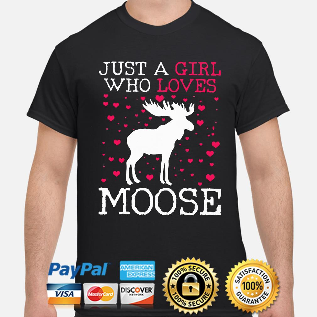 Moose Just a girl who loves Moose Christmas sweater