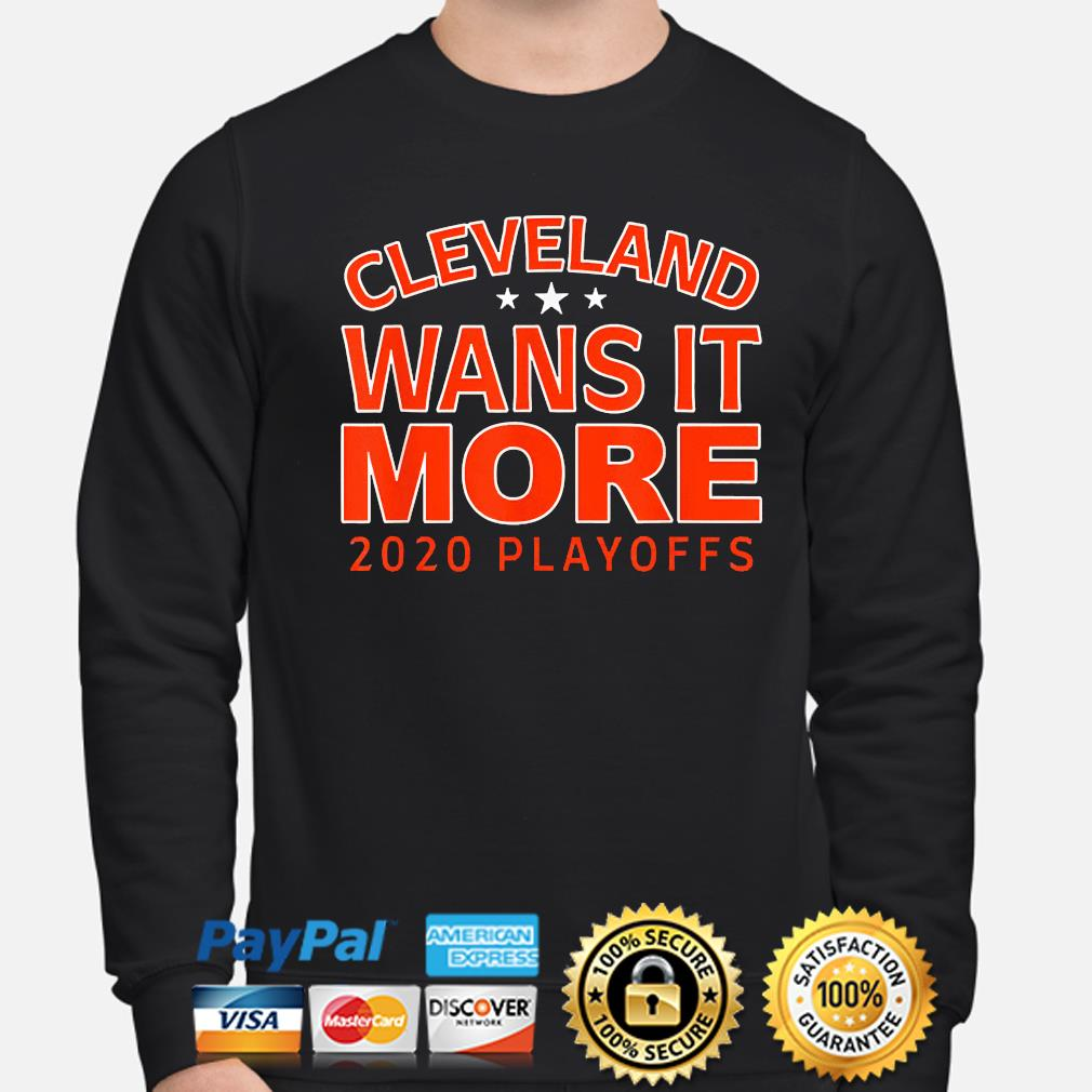 Official 2021 Cleveland wants it more playoffs s sweater