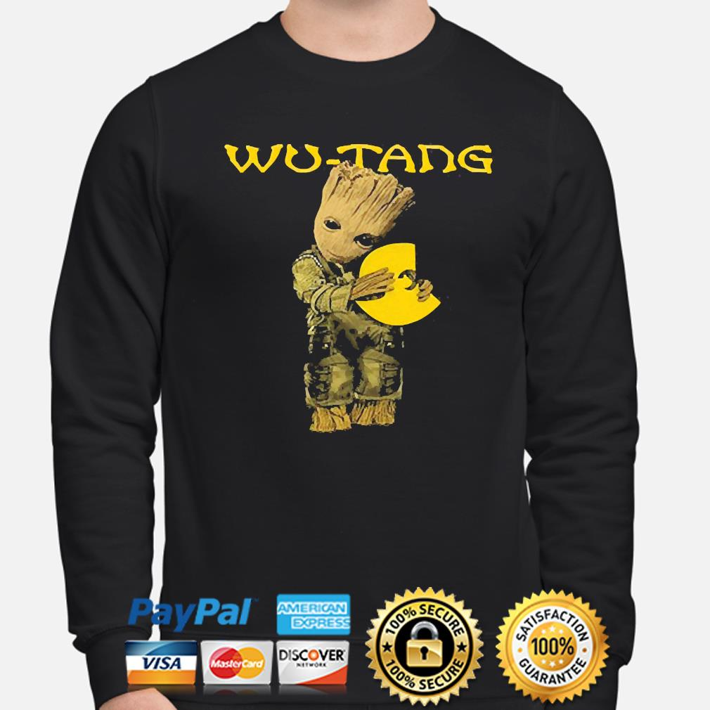 Official Baby Groot hug Wu-Tang s sweater