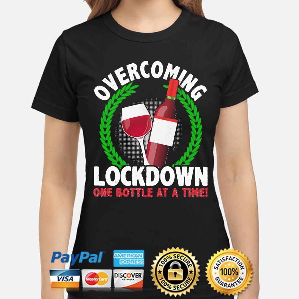 Overcoming Lockdown one Bottle at a time s ladies-shirt