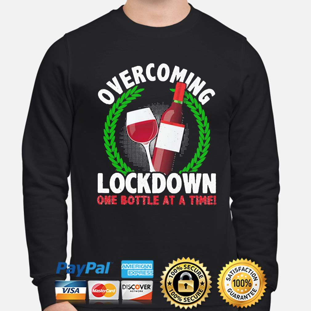 Overcoming Lockdown one Bottle at a time s sweater