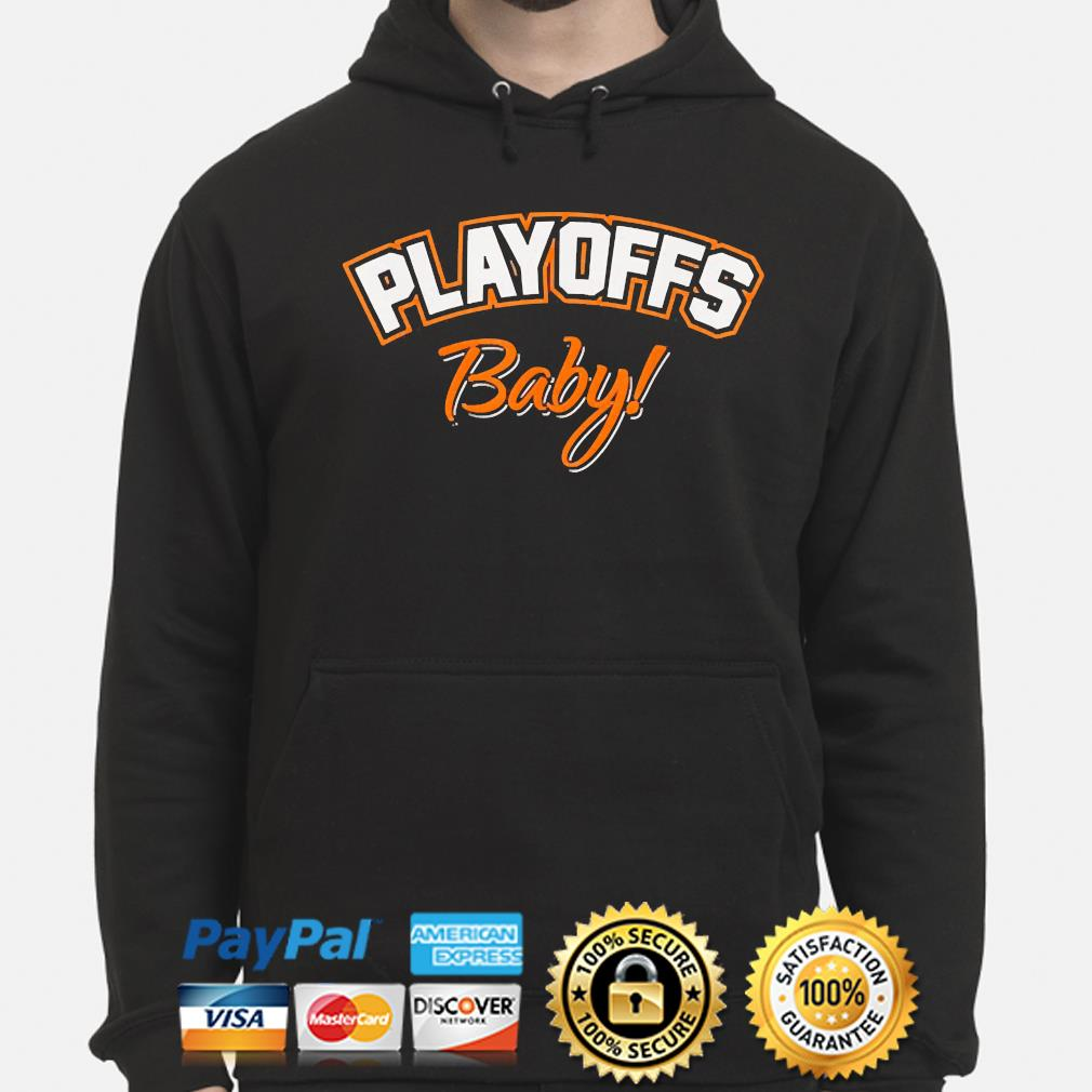Playoffs baby cleveland oh football fan team colors 2021 s hoodie