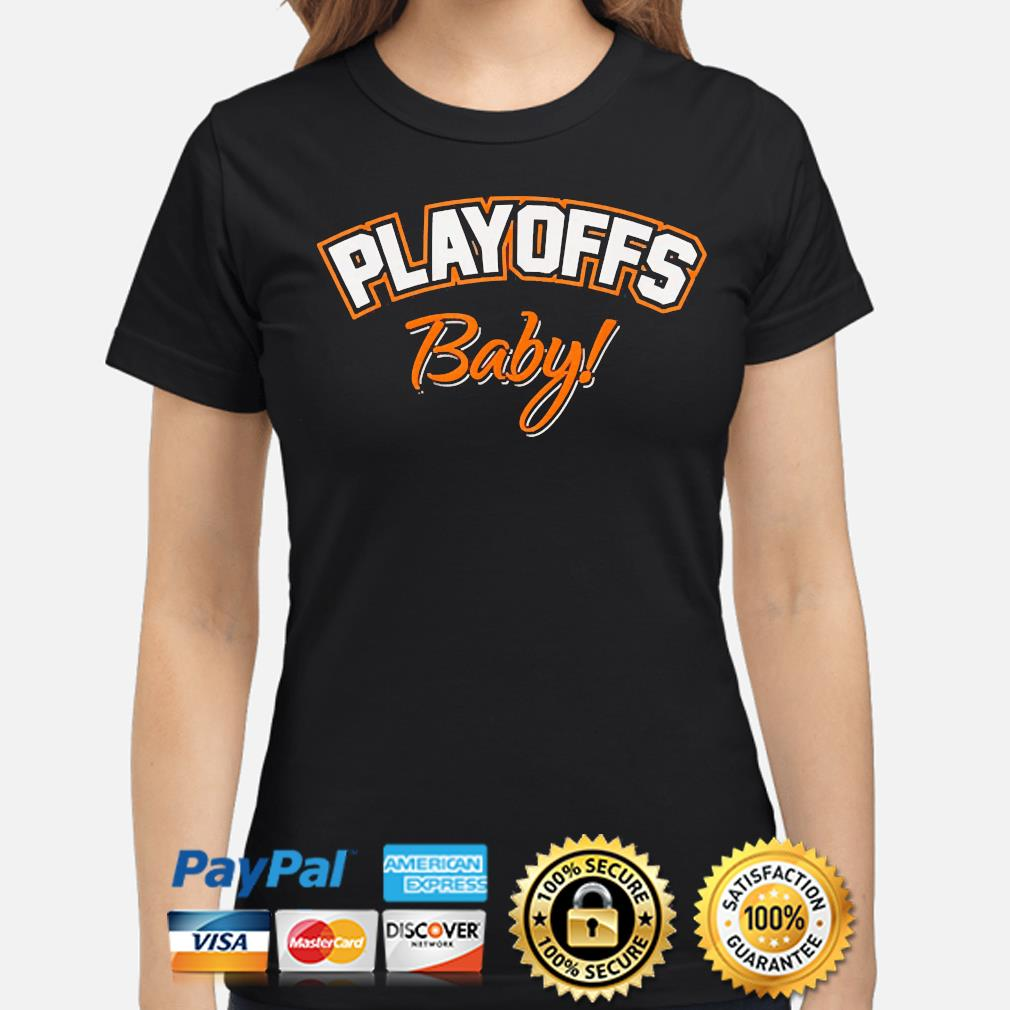 Playoffs baby cleveland oh football fan team colors 2021 s ladies-shirt