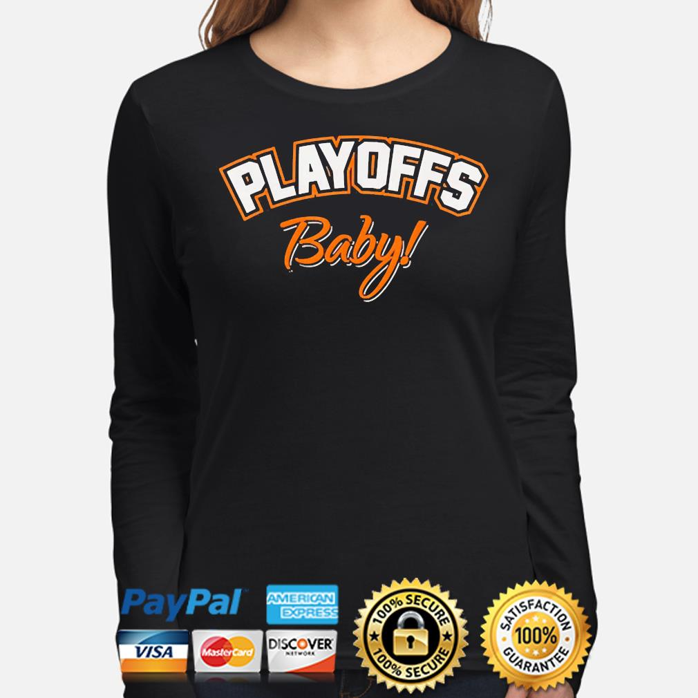 Playoffs baby cleveland oh football fan team colors 2021 s long-sleeve