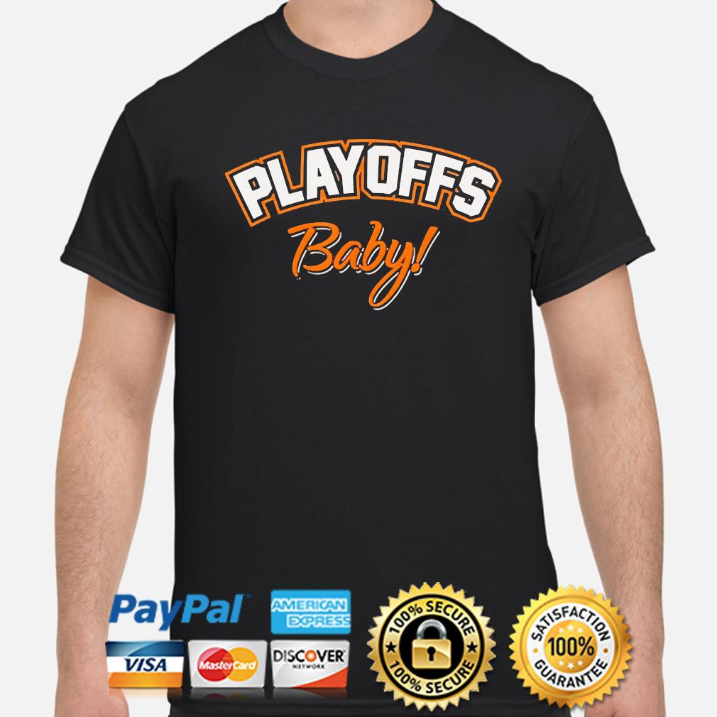 Playoffs baby cleveland oh football fan team colors 2021 shirt