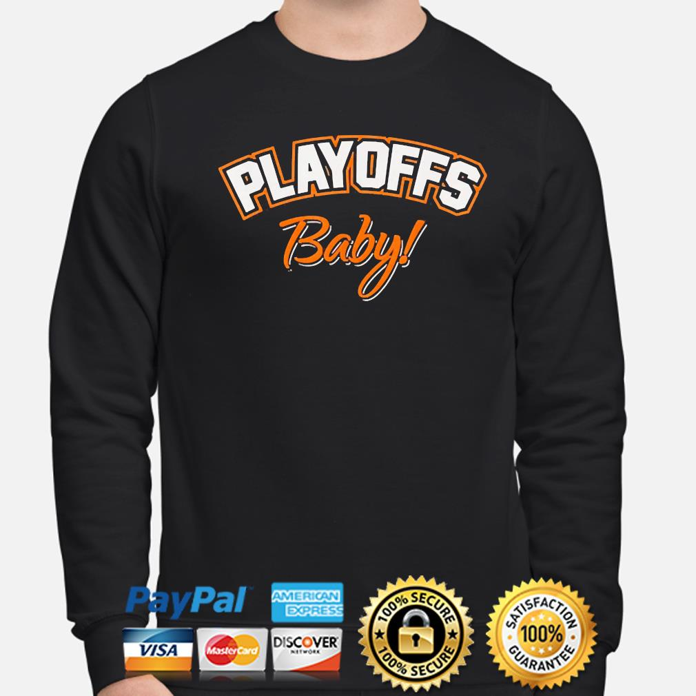 Playoffs baby cleveland oh football fan team colors 2021 s sweater