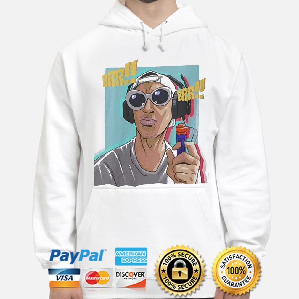 Tyrone the gangsta pocket size sublimation dri fit s hoodie