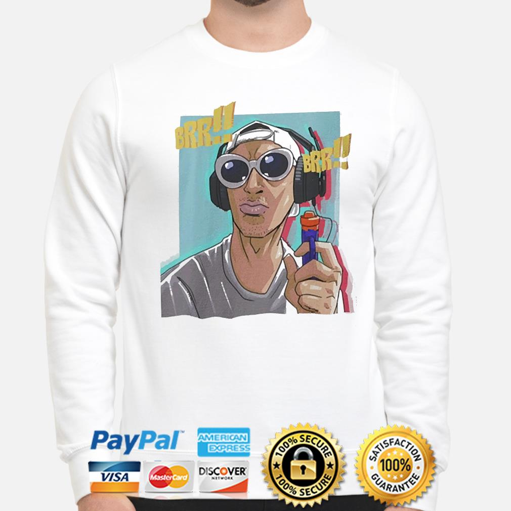 Tyrone the gangsta pocket size sublimation dri fit shirt