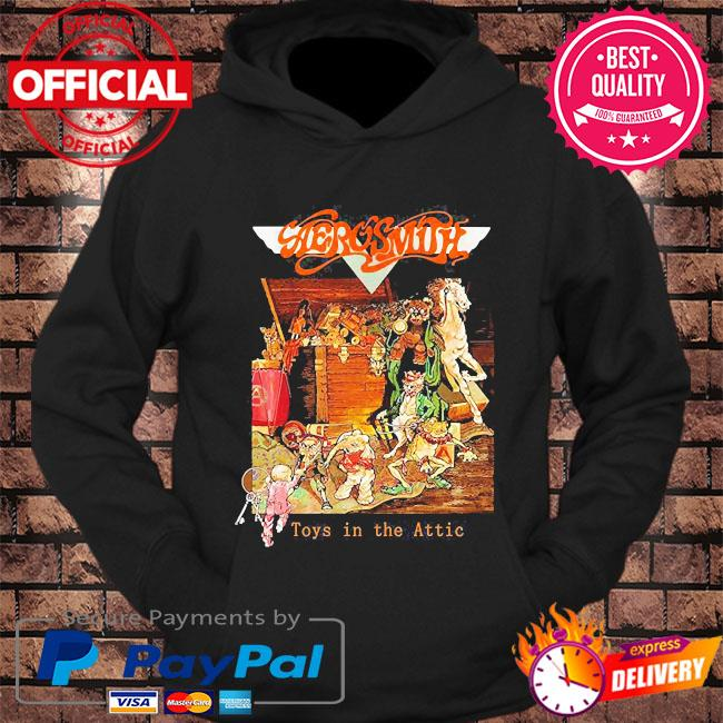 Aerosmith toys in the attic s hoodie Black
