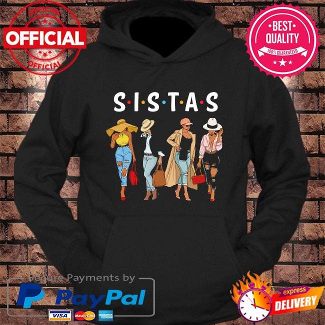 Official Sistas Women Awesome s hoodie Black